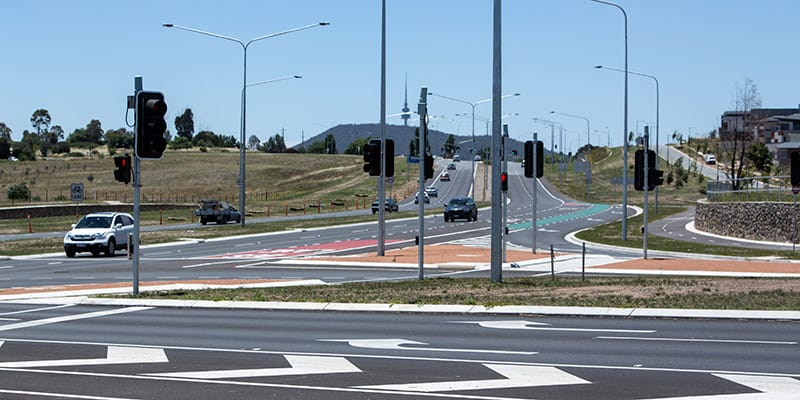 Cotter Road and Streeton Drive Upgrade